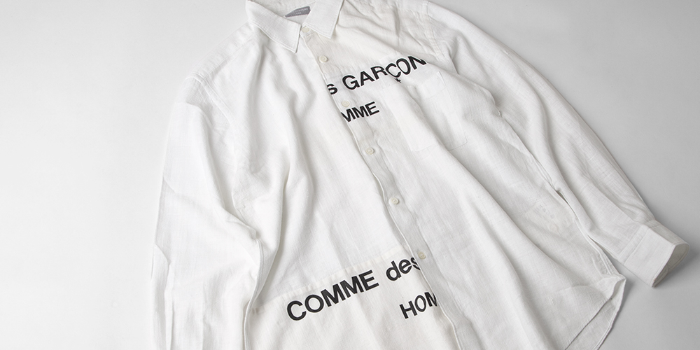 COMME des GARCONS HOMME Secondhand clothing