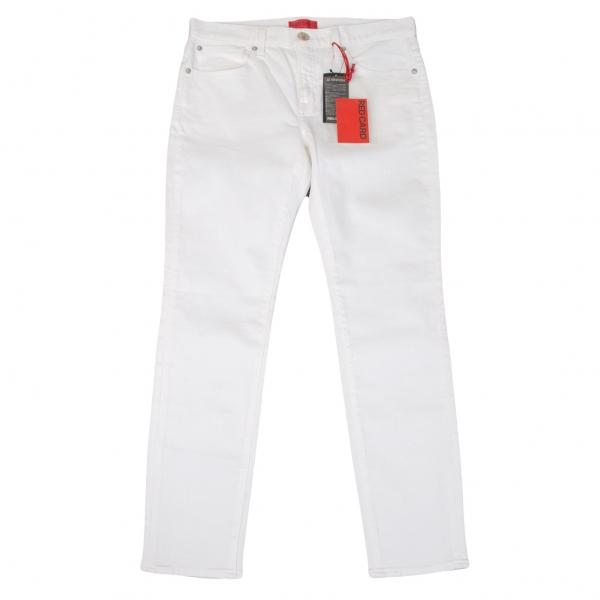 レッドカードRED CARD ストレッチスキニーホワイトパンツ 白27