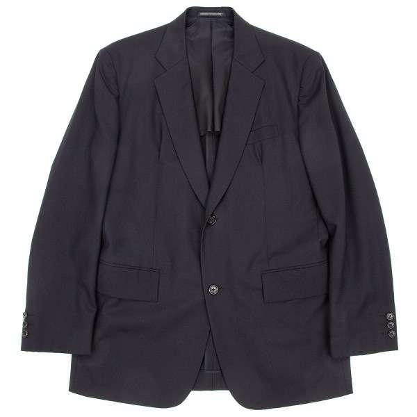 【SALE】ヨウジヤマモト コスチュームドオムYohji Yamamoto COSTUME D' HOMME 2Bウールジャケット 紺2