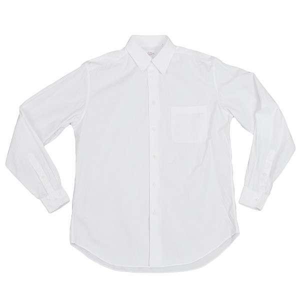 ヨウジヤマモトコスチュームドオムYohji Yamamoto COSTUME D' HOMME コットンシャツ 白M位