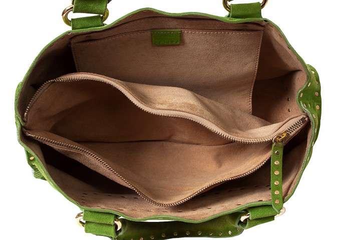 celine suede studded boogie bag