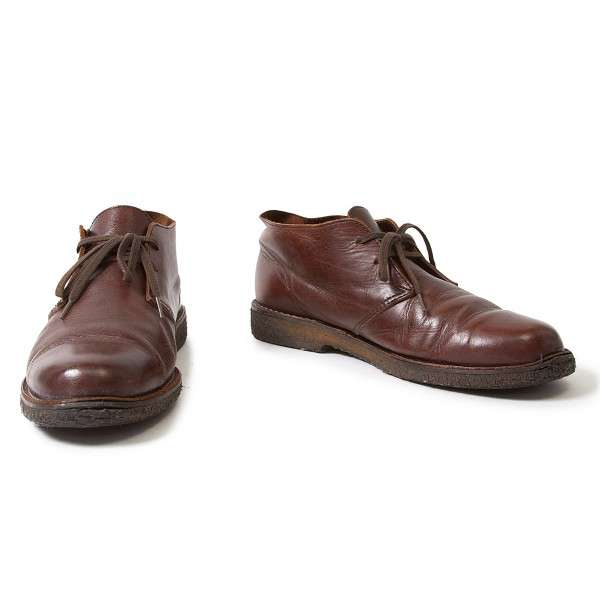 (SALE) Y's for men Leather dessert shoes Size US 8(K-20912)