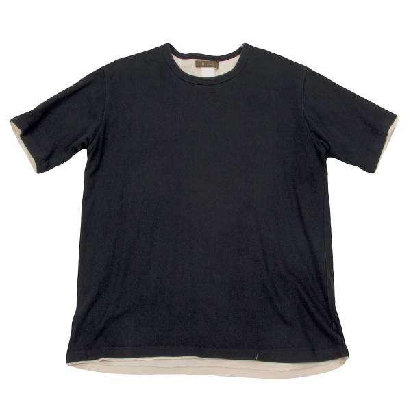 【SALE】ワイズフォーメンY's for men レイヤードデザインTシャツ 黒ベージュ3