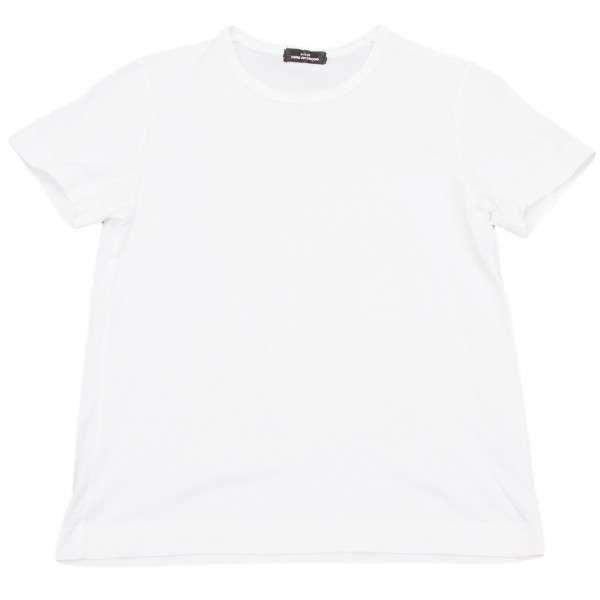 【SALE】トリコ コムデギャルソンtricot COMME des GARCONS ラウンドネックシンプルTシャツ 白M位