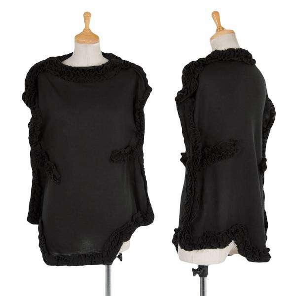 (SALE) COMME des GARCONS knit sleeveless Größe XS(K-29678)