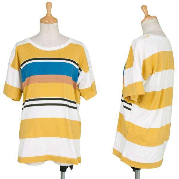 (SALE) MHL.  stripe T-shirt Size M(K-30717)
