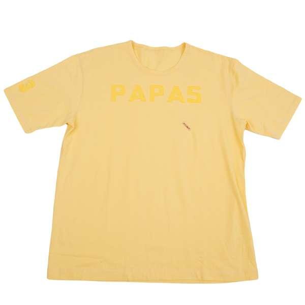 (SALE) Papas Logo Paste T-shirt Größe 50(LL)(K-33801)