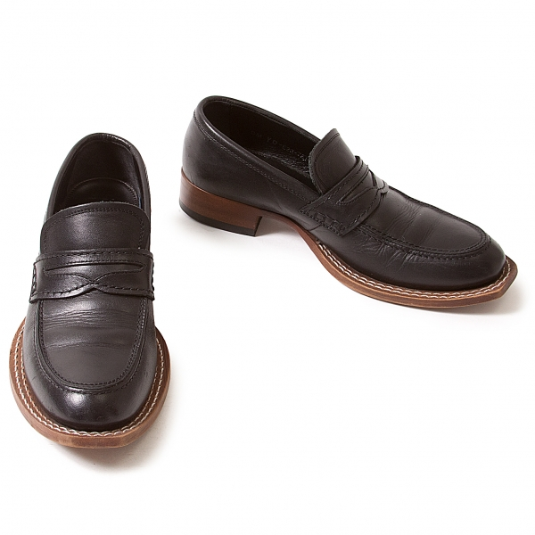 (SALE) Y's Pelle loafers Size 6(  About  8)(K-35237)