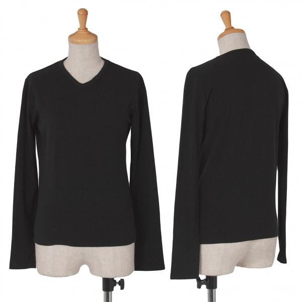 (SALE) WXYZ work shop V-neck T-Shirt Größe M(K-38261)
