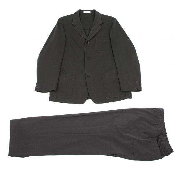 【SALE】ワイズフォーメンY's for men SHIRTS コットンテーラーカラーセットアップスーツ チャコールM