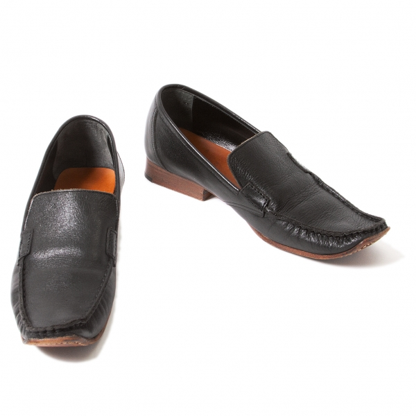 Y's Leather Driving Shoes Size 2(US About  5.5)(K-39370)