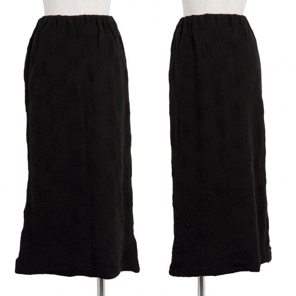 (SALE) Y's Wool Knit Skirt Size 3(K-41088)