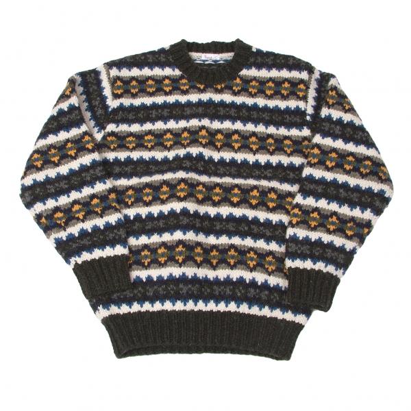 Papas Wool Knit sweater Größe S-M(K-41248)