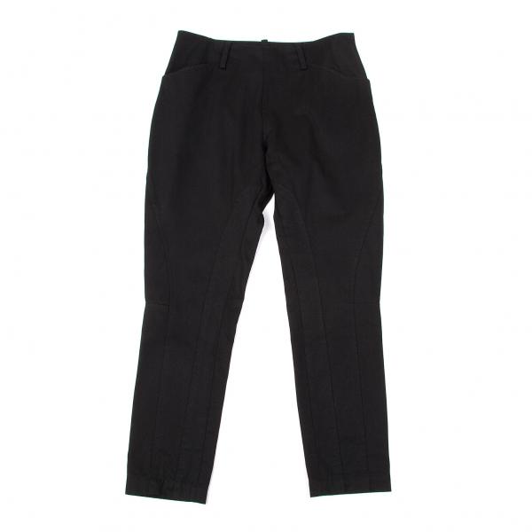 【SALE】ワイズY's コットンギャバ切替ジョッパーズパンツ 黒2