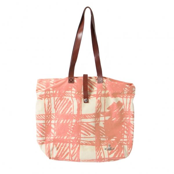 1efe1ee877 Vivienne Westwood Canvas Tote Bag(K-43309)   eBay
