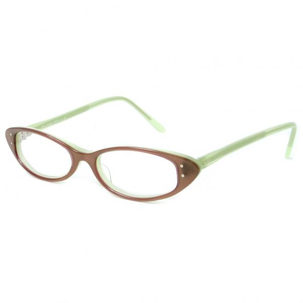 【最終値下げ】セリマオプティークSELIMA OPTIQUE メガネ ROSE P41 グリーン50□17 131