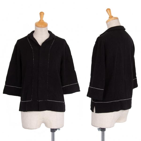 (SALE) Y's Stitch Cardigan Size 3(K-43956)