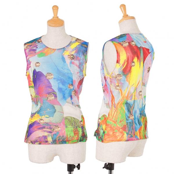 Unbranded Print Sleeveless Size S-M(K-44046)