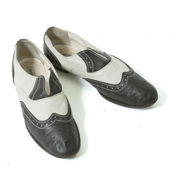 MIHARA YASUHIRO Leather Shoes Size US 7(K-44240)