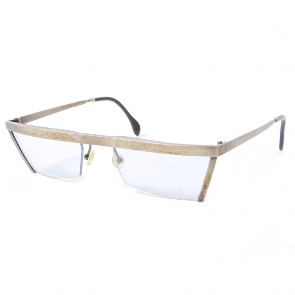 STERLING ドイツ製 463 ヴィンテージ デザインサングラス 薄ブルーレンズ シルバー52□20 130