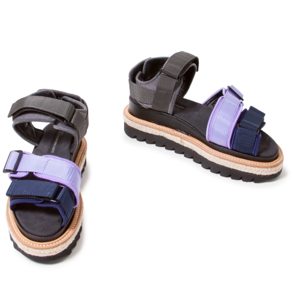 (SALE) Y's KAYO NAKAMURA Sandal Talla 4(US About  7.5)(K-44875)
