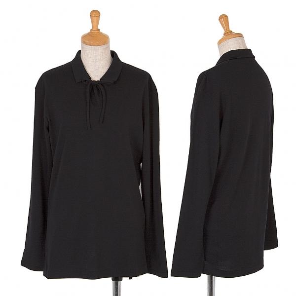 Y's Wool knit top Größe S-M(K-44953)