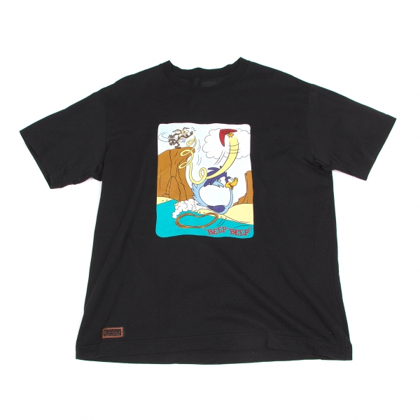 Karl Helmut Rooney Tunes Print T-Shirt Size L(K-45378)