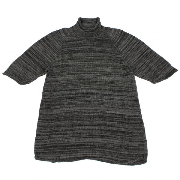 Yohji Yamamoto POUR HOMME Cotton Shorts leeves Knit Size M(K-45477)
