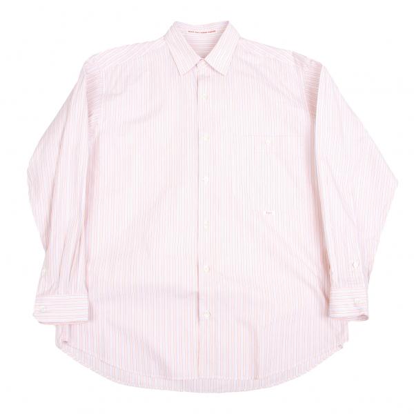 Papas Cotton Stripe Shirt Size M(K-45755)