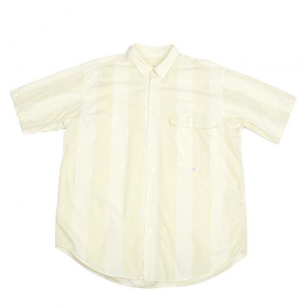 Papas Stripe Short Sleeves Shirt Size M(K-45802)