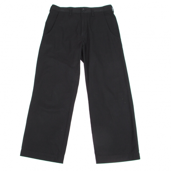Y's Cotton Straight Pants Size 1(K-45814)
