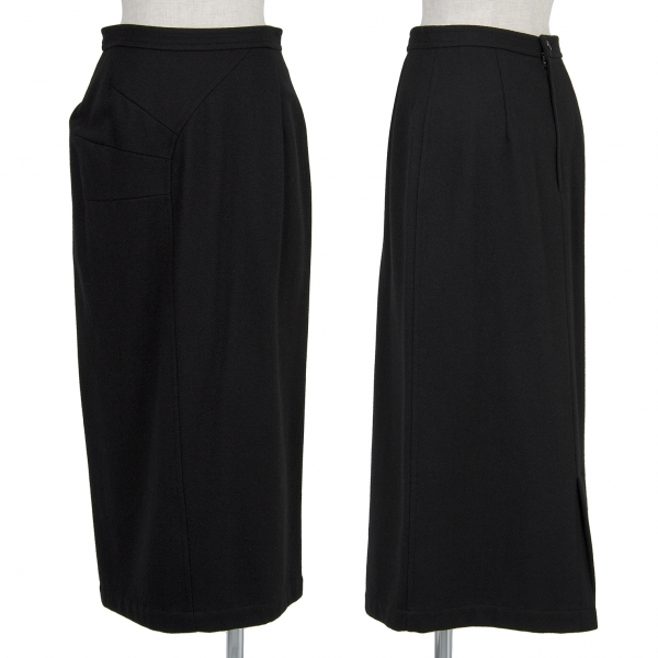 COMME des GARCONS Design Wool Skirt Size M(K-45917)