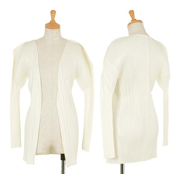 PLEATS PLEASE Cardigan Size 3(K-45990)