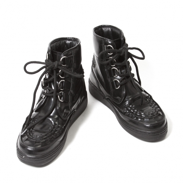 LIMI feu Leather Shoes Size US About  6(K-46220)