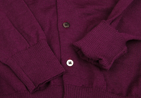 Size S m k Wool Des Garcons Tricot 46296 Cardigan Knit Comme xYw0RCqB