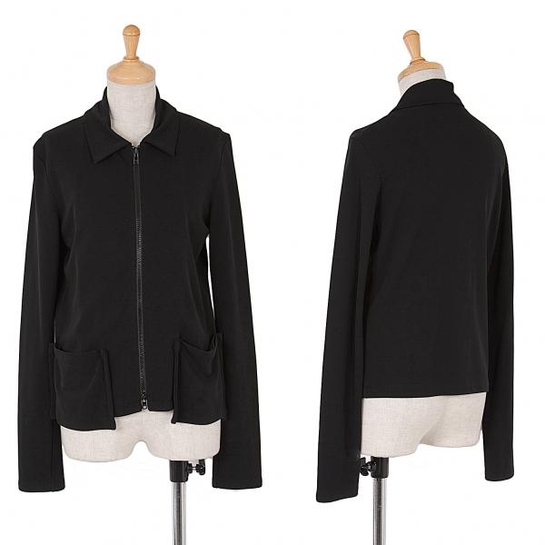 ワイズY's ジップジャージージャケット 黒M位