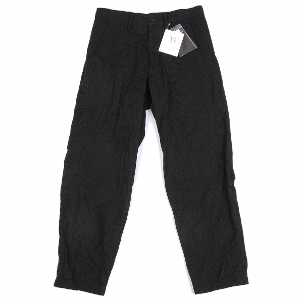 Y's Cotton Washed Pants Size 2(K-47901)
