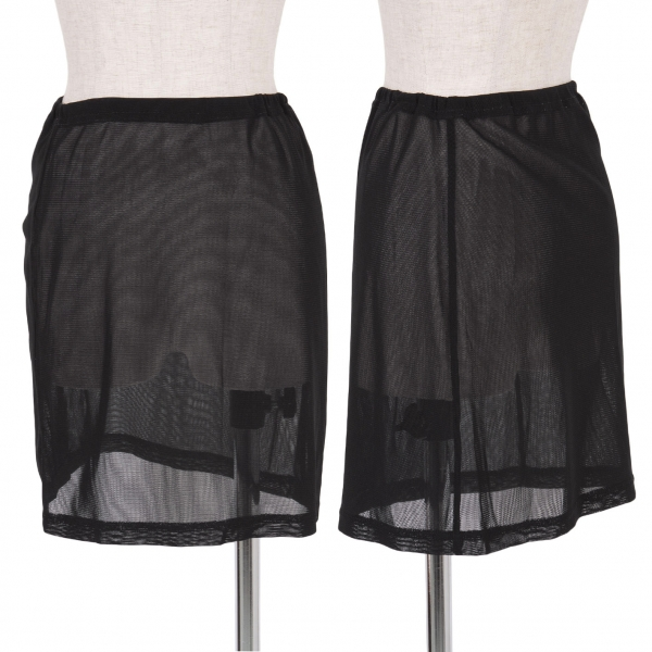 PLEATS PLEASE Mesh skirt Size S(K-48025)