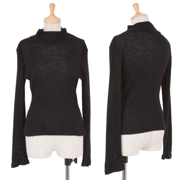 Y's Alpaca Knit sweater Größe 3(K-48129)