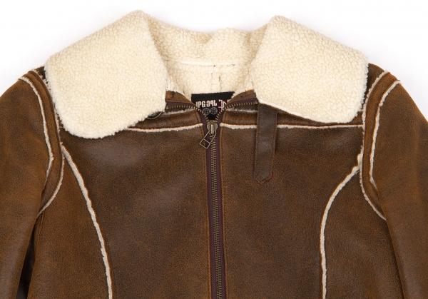 Fake 40 Jean k Gaultier 48503 paul Size Mouton Coat 7nwrETwZ