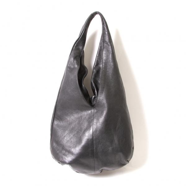 ジャンニキアリーニGIANNI CHIARINI レザートートバッグ 黒