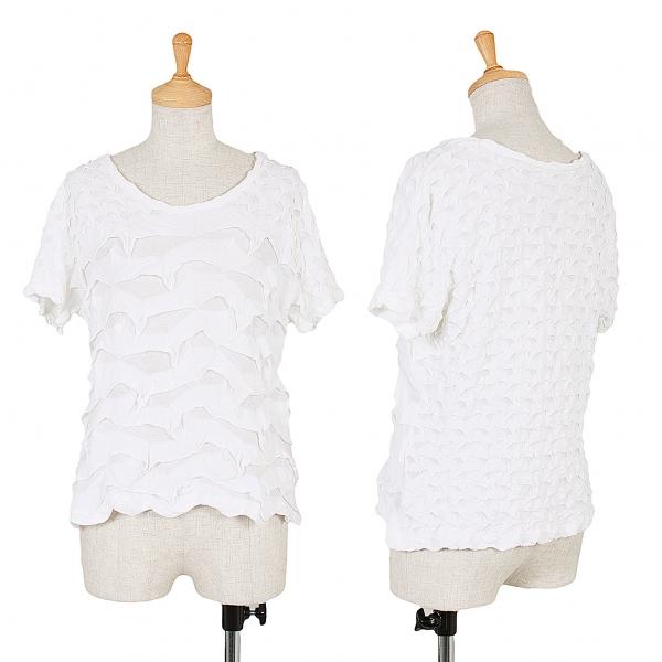 ISSEY MIYAKE HaaT Mesh Weave T-Shirt Größe 2(K-48612)