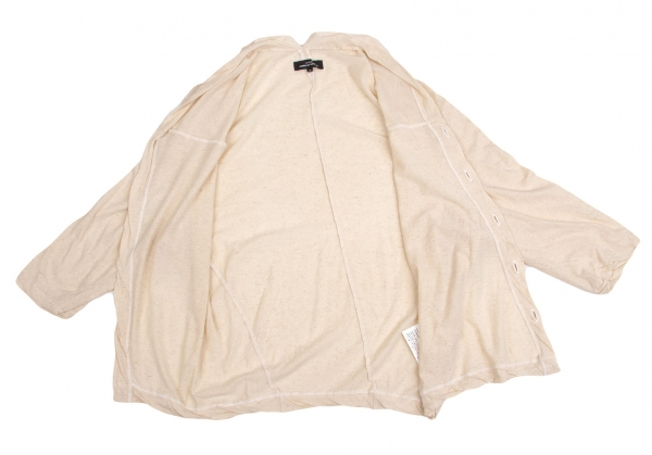 Tricot COMME des des des GARCONS Cotton Linen Cardigan Size S(K-49091) 584e5d