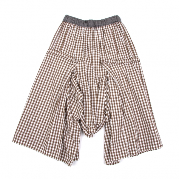 COMME des GARCONS Dropped Credch Pants Size SS(K-49107)