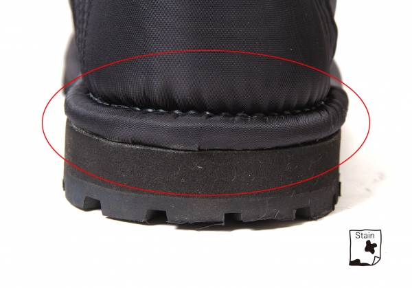 JUNYA WATANABE Inner Inner Inner Fur Nylon Ski Stiefel Größe About US7(K-49120) 0a57ef