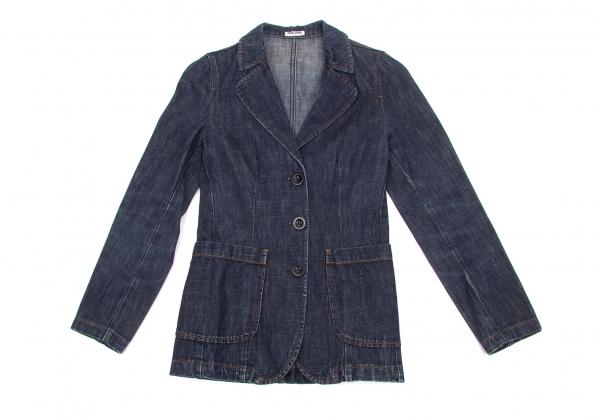 Size Jacket 38 49350 Miumiu Denim k 3b tFRaZq
