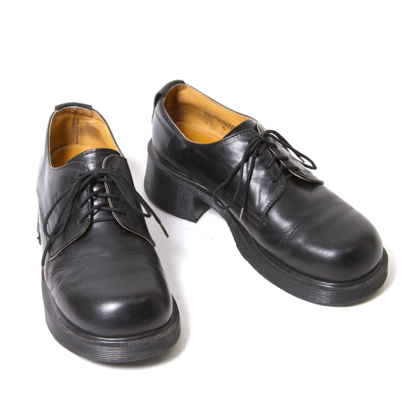 Dr. Martens Leather round toe shoes Size 6(About US7.5)(K-49385)