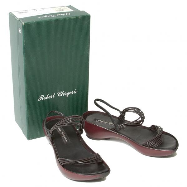 ROBERT CLERGERIE Round sole sandals