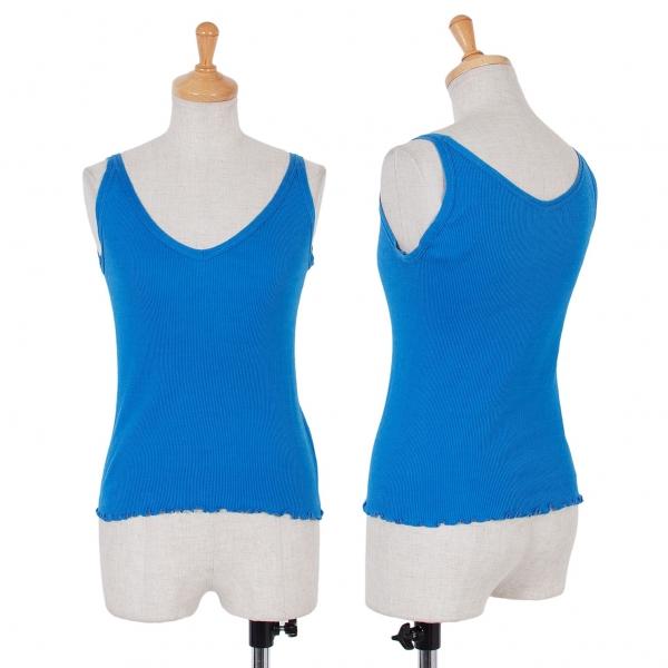 (vente) ZUCCA coton tricot sans manches débard Größe 1 (K-50503)