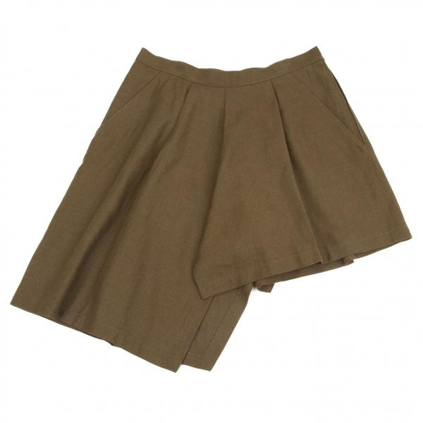 (SALE) Yohji Yamamoto FEMME Asymmetry Pants Größe 1(K-50716)